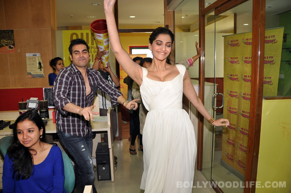 When Sonam Kapoor did an instant jig at a promotional event…